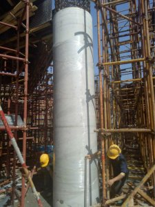 Things to pay attention to when transporting circular column formwork products in winter