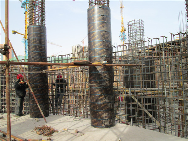 circular column formwork construction