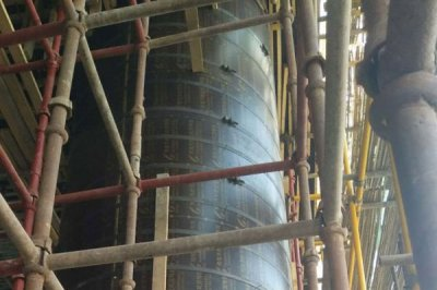Circular column formwork can also be used for profiled formwork construction