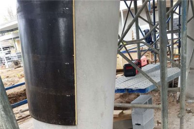 High quality concrete circular column forms for sale