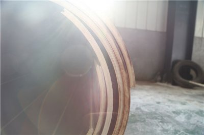 Plywood round column form system is super easy to use