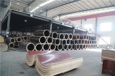 Circular column formwork sales to foreign countries