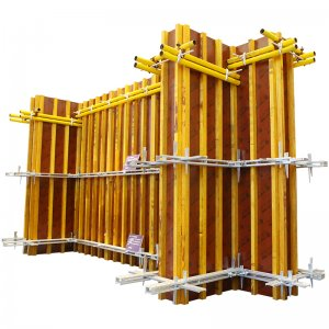 New type of shear wall formwork system