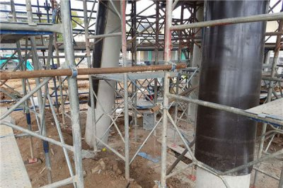 Which is better for wood circular column forms and steel circular column formwork