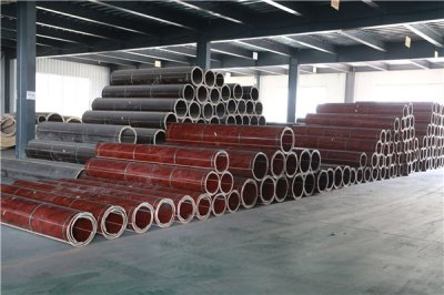 Cost-effective circular column formwork construction is fast